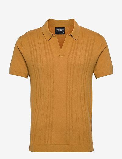 ANF MENS SWEATERS - kurzärmelig - amber gold