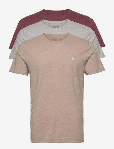 ANF MENS KNITS - basic t-shirts - red dd