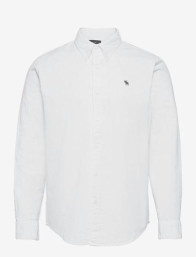 ANF MENS WOVENS - basic-hemden - solid white