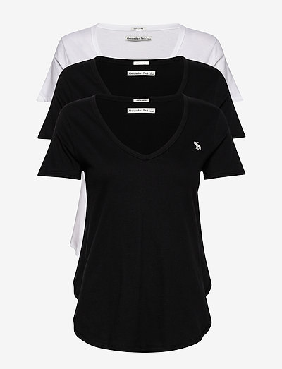 ANF WOMENS KNITS - t-shirts - white