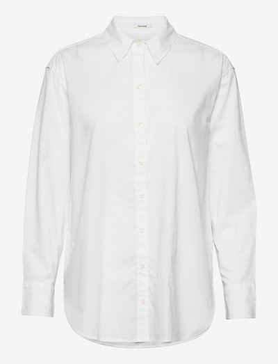 ANF WOMENS WOVENS - langärmlige hemden - white