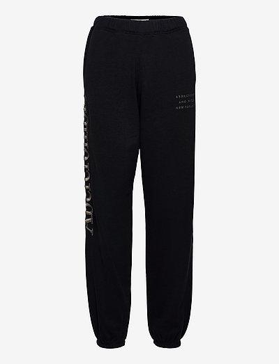 ANF WOMENS KNIT BOTTOMS - sweatpants - black