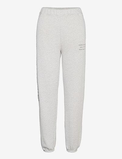 ANF WOMENS KNIT BOTTOMS - sweatpants - grey heather