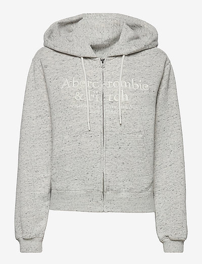 ANF WOMENS SWEATSHIRTS - kapuzenpullover - heather grey