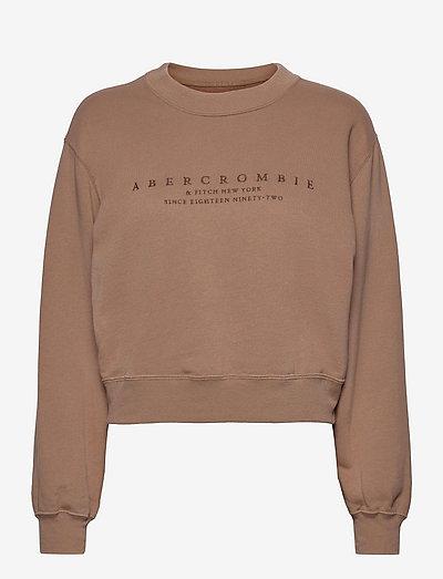 ANF WOMENS SWEATSHIRTS - sweatshirts - gingersnap