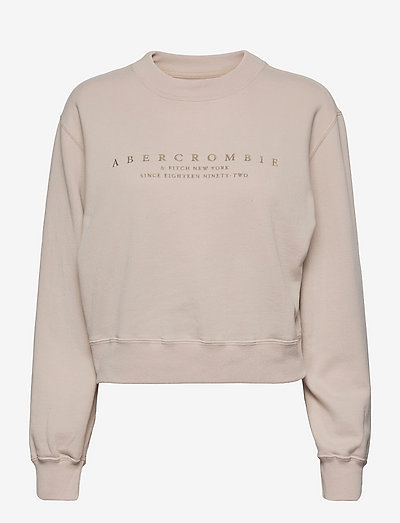 ANF WOMENS SWEATSHIRTS - sweatshirts - grey morn