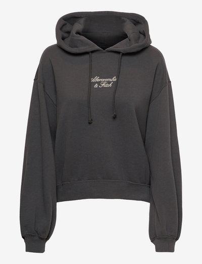 ANF WOMENS SWEATSHIRTS - hoodies - grape shake