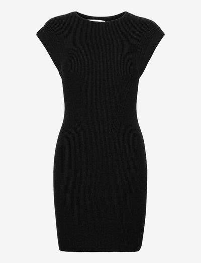 ANF WOMENS DRESSES - etuikleider - black solid