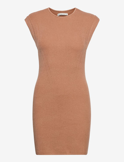 ANF WOMENS DRESSES - etuikleider - natural solid