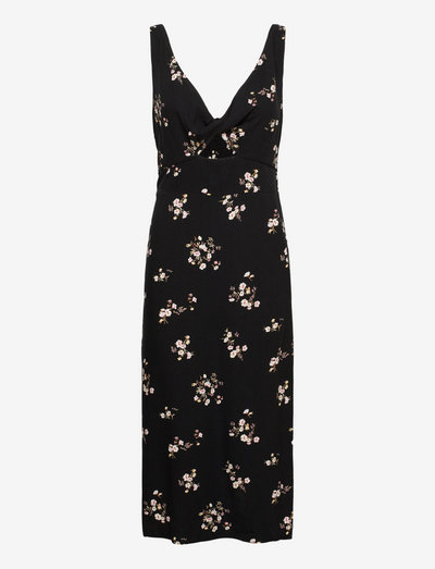ANF WOMENS DRESSES - cocktailkleider - black-grounded floral
