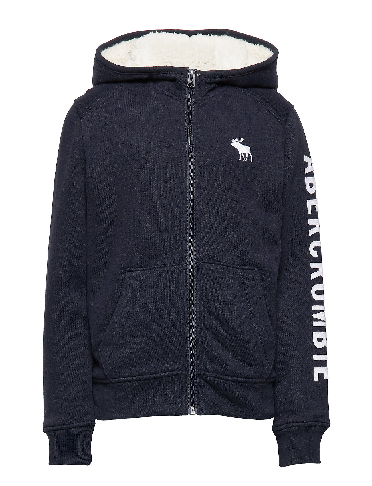Abercrombie & Fitch Sherpa - NAVY