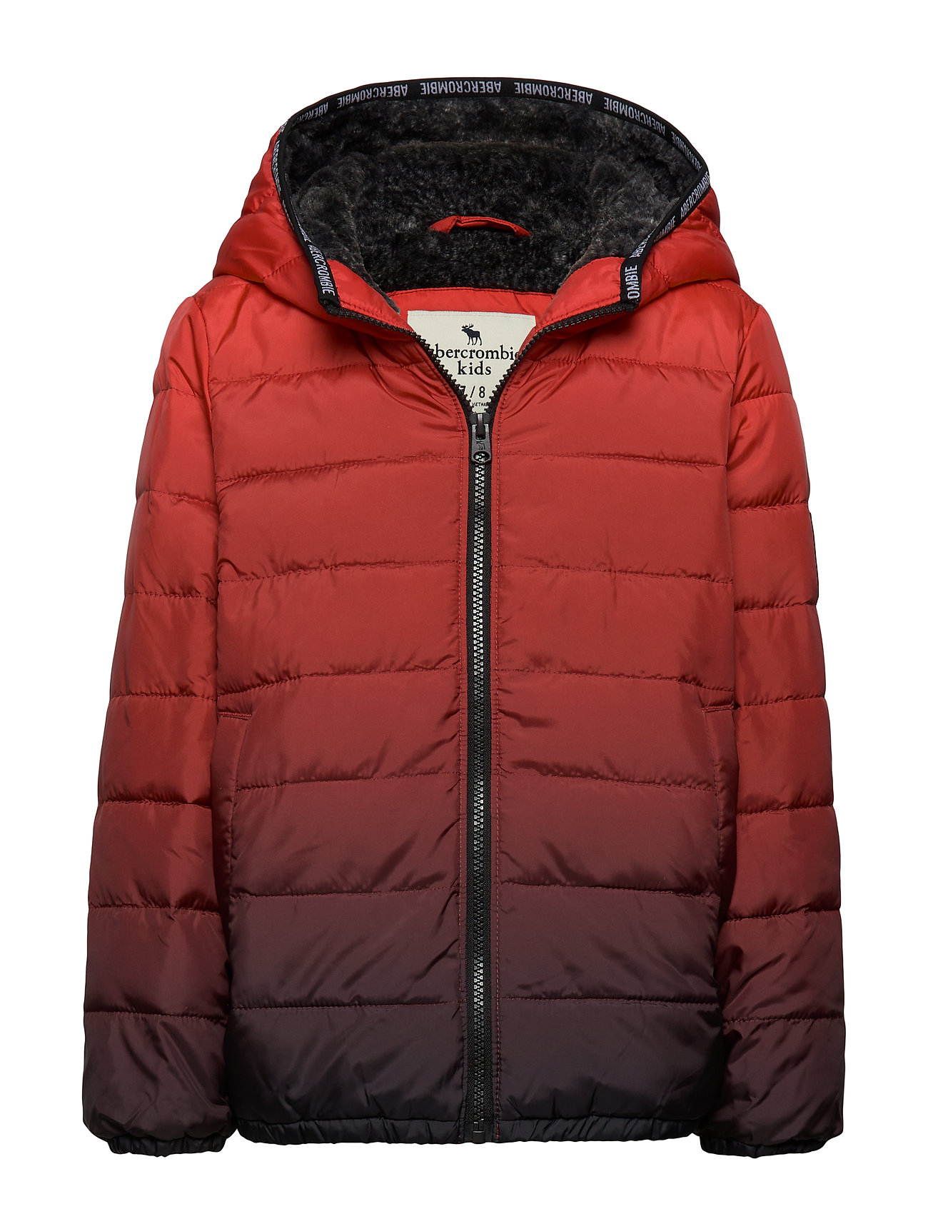 Abercrombie & Fitch Puffer - RED PATTERN