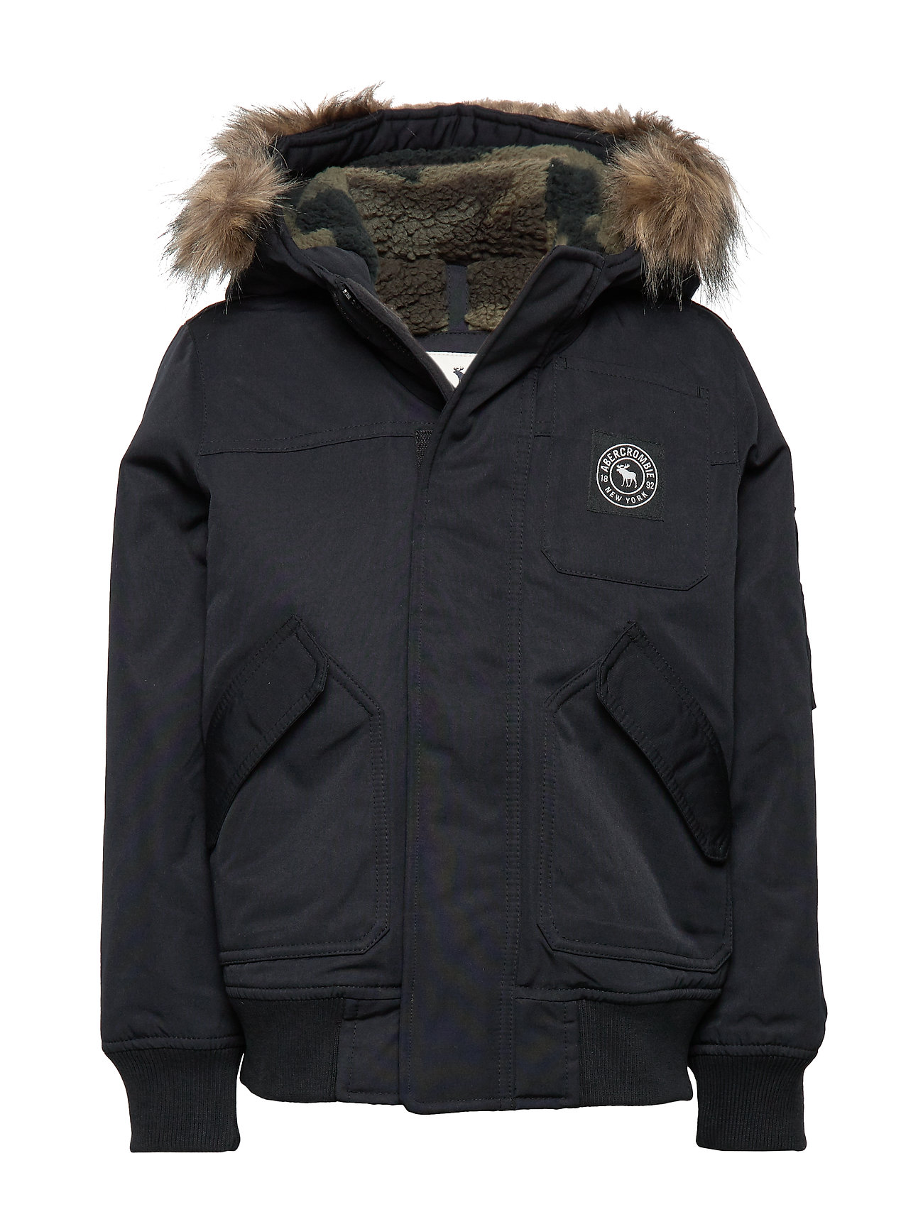 Abercrombie & Fitch Bomber - OPEN BLACK 90