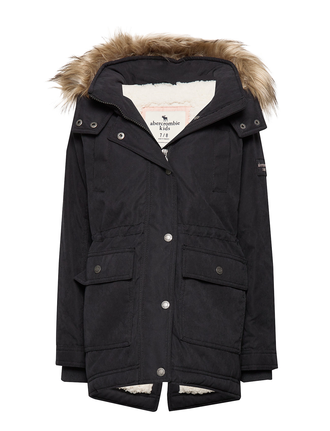 Abercrombie & Fitch Ultimate Parka - PURE BLACK