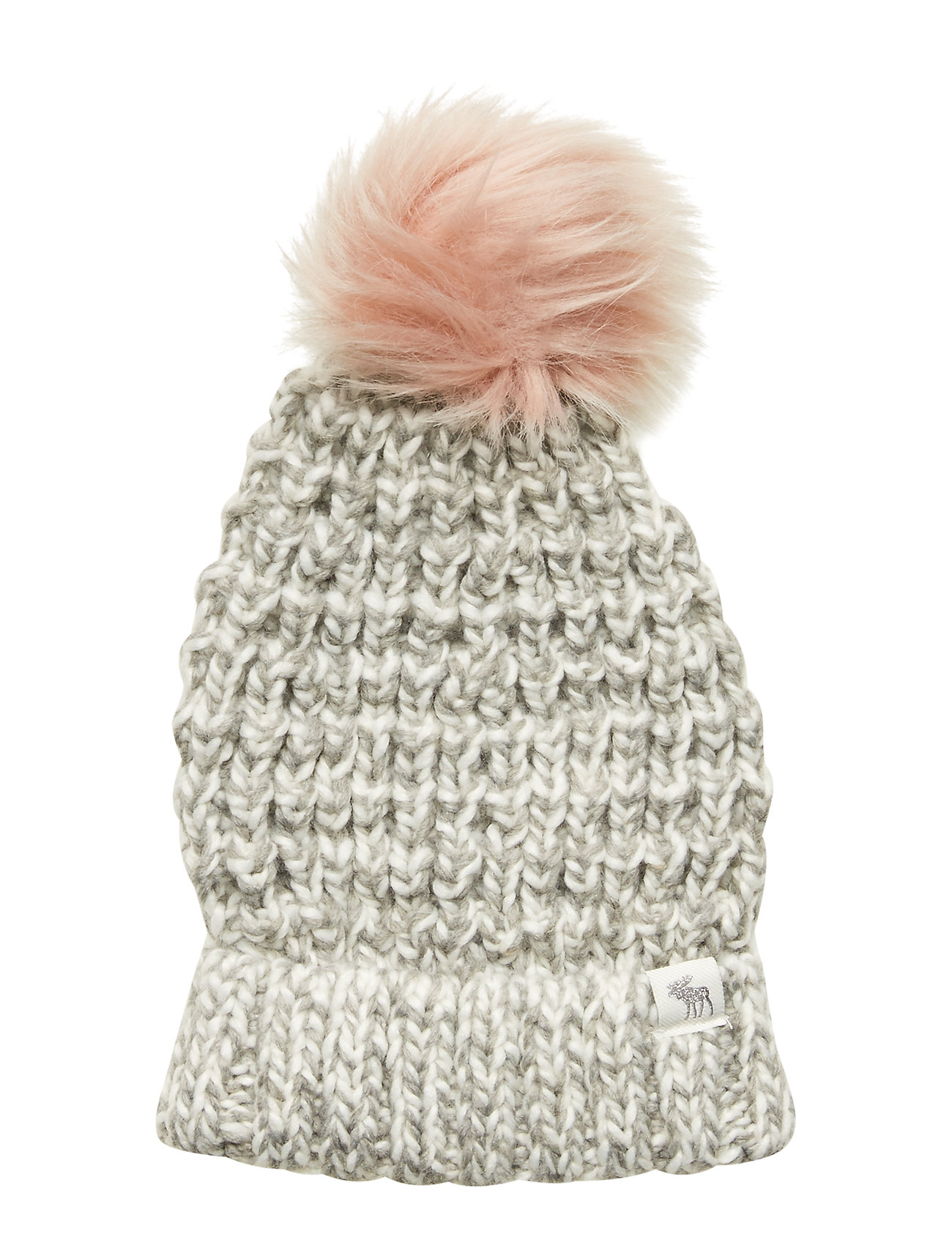 Abercrombie & Fitch Beanie - LIGHT SOLID GREY