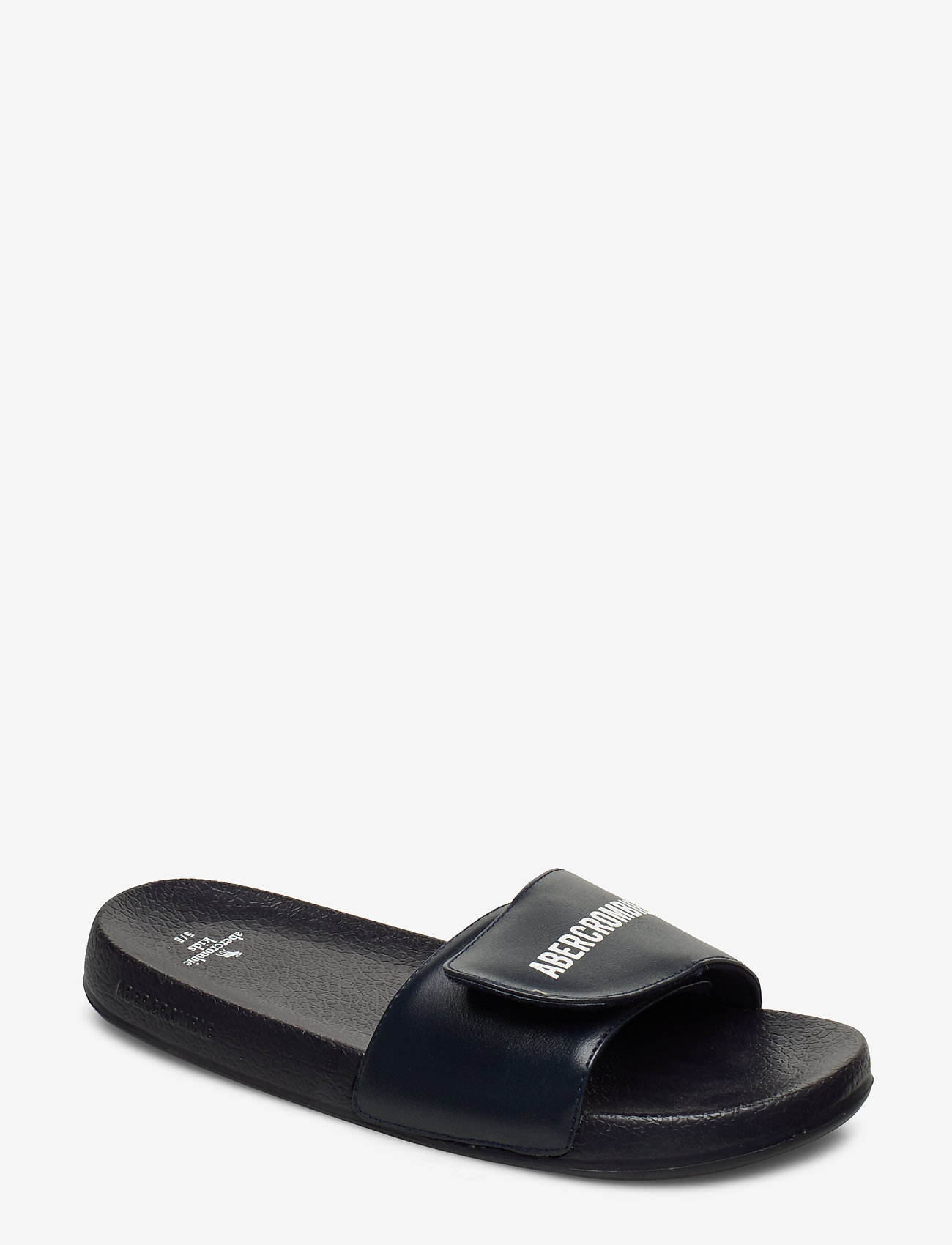 Abercrombie & Fitch - Core Slide Sandals - pool sliders - navy - 0
