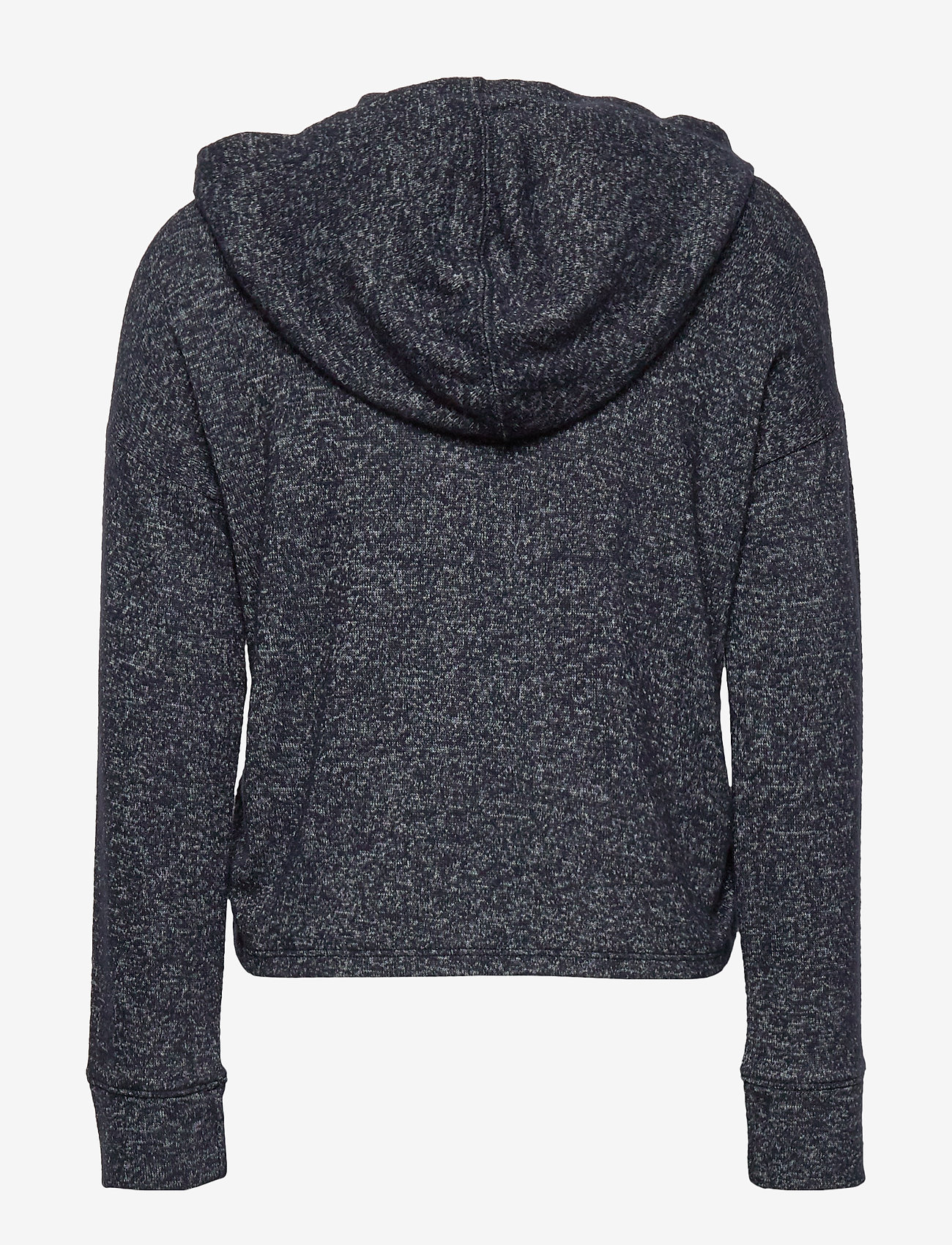 Abercrombie & Fitch Ruched Side Cozy Hood - Överdelar Navy