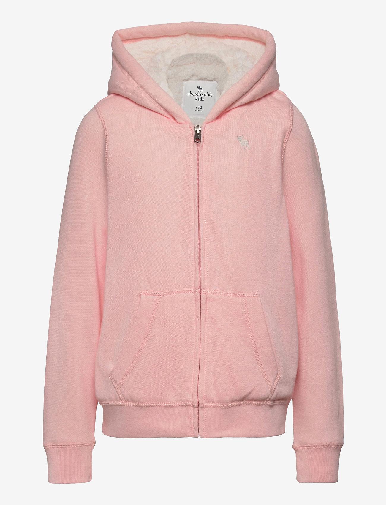 Abercrombie & Fitch - Sherpa - hættetrøjer - light pink - 0