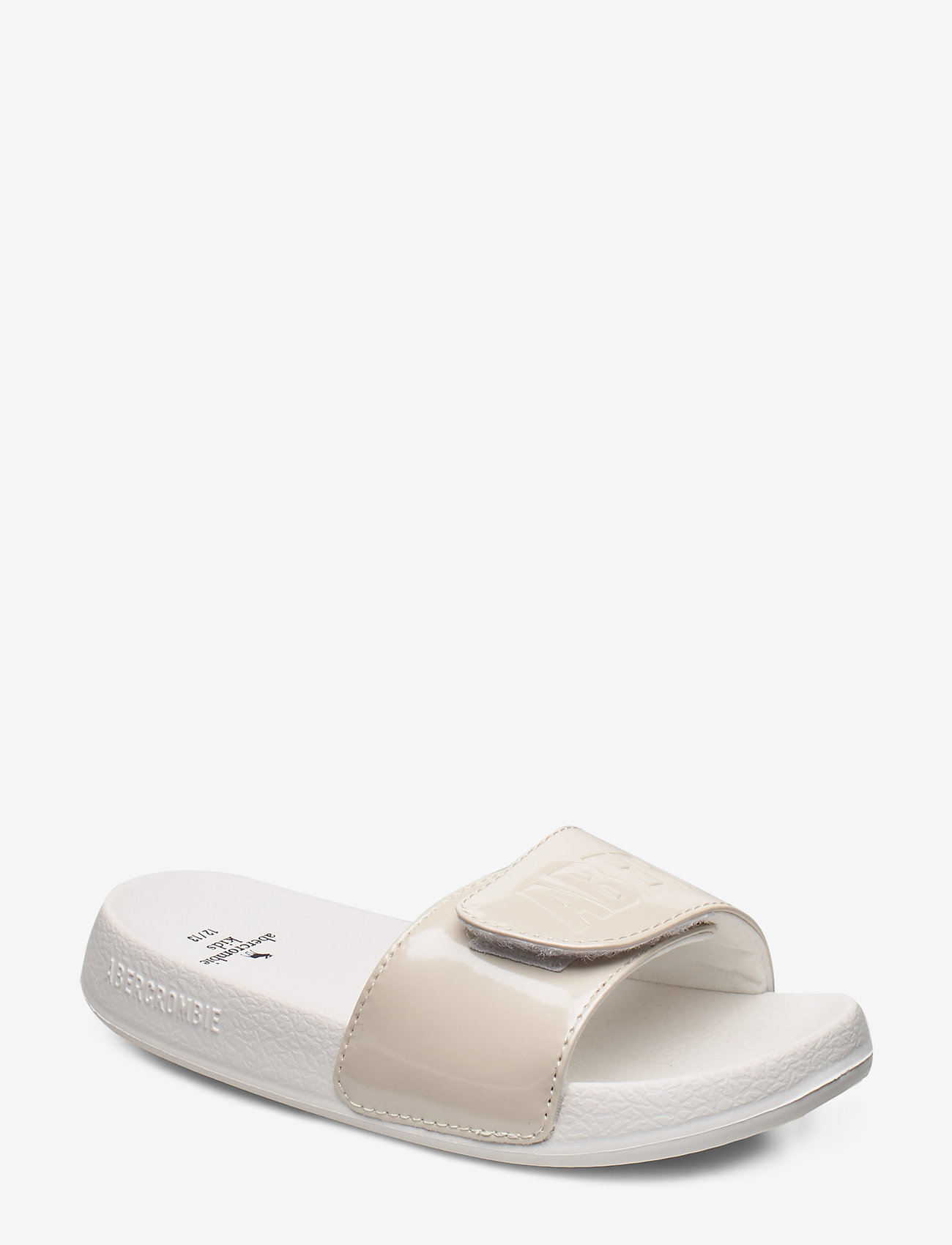 Abercrombie & Fitch - Slide Sandals - pool sliders - cream - 0