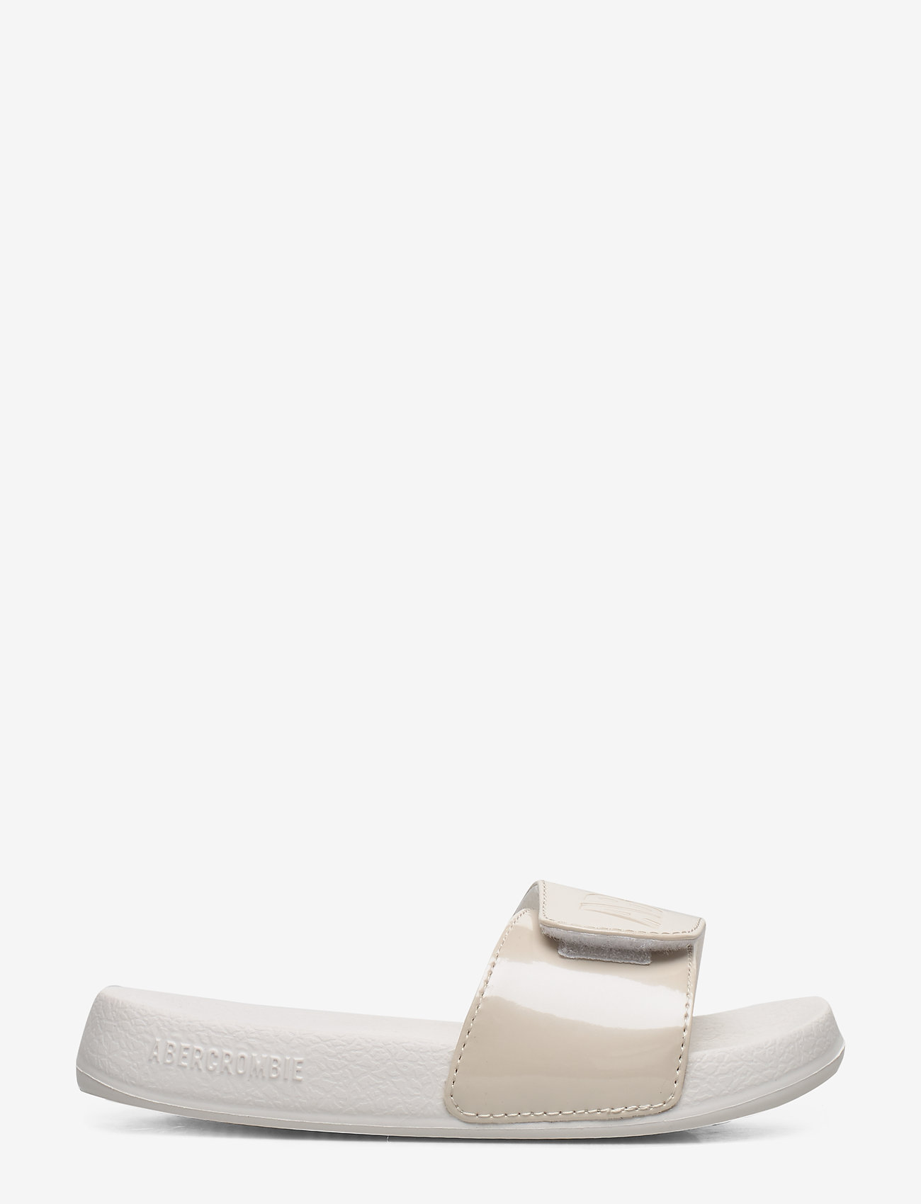 Abercrombie & Fitch - Slide Sandals - pool sliders - cream - 1