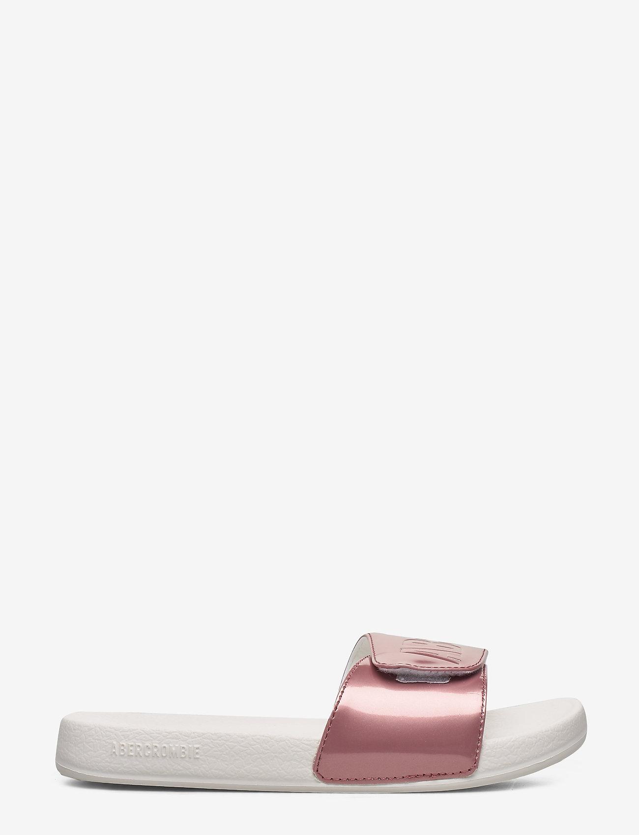 Abercrombie & Fitch - Slide Sandals - pool sliders - dark pink - 1