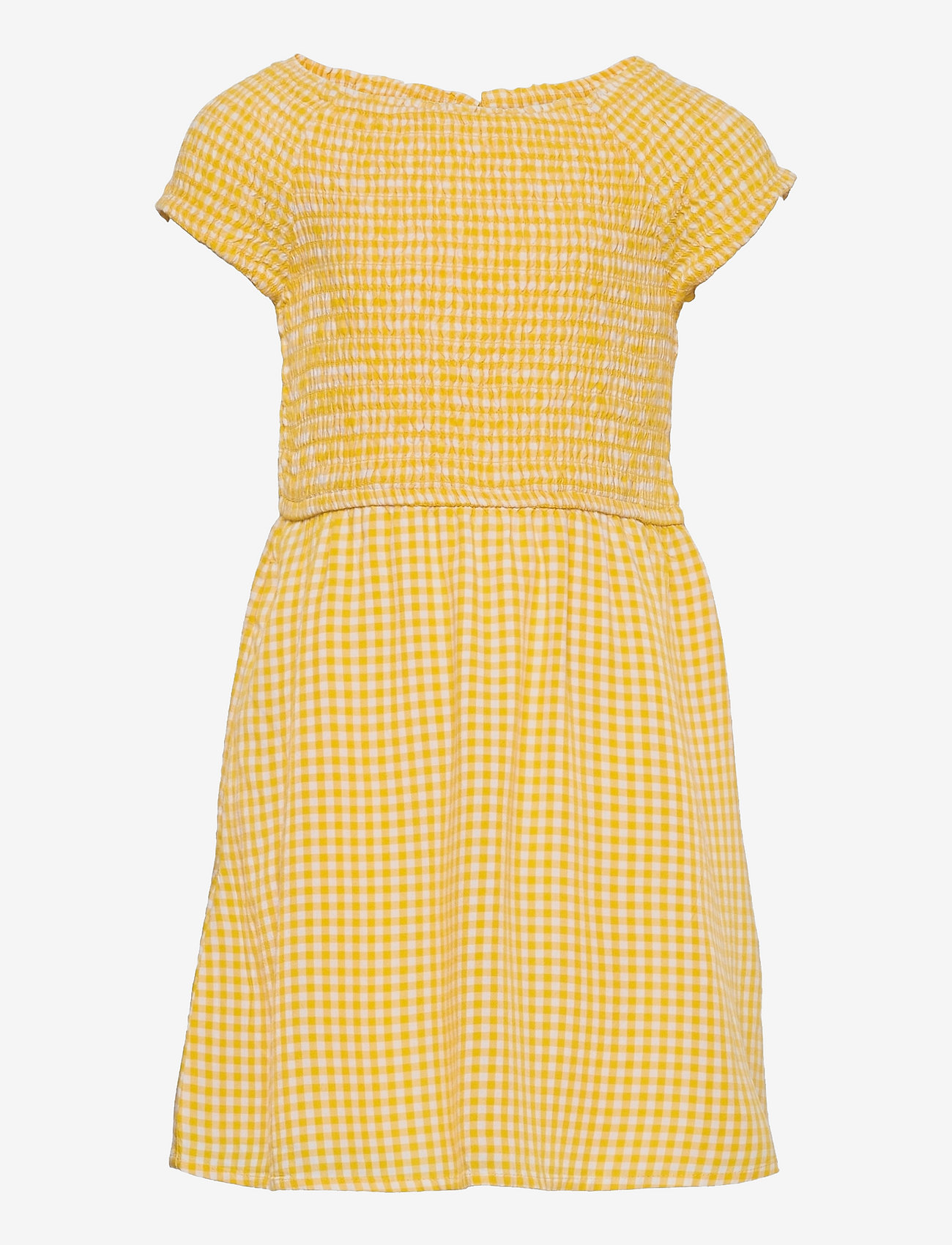 Abercrombie & Fitch - kids GIRLS DRESSES - kleider - light yellow patt - 0