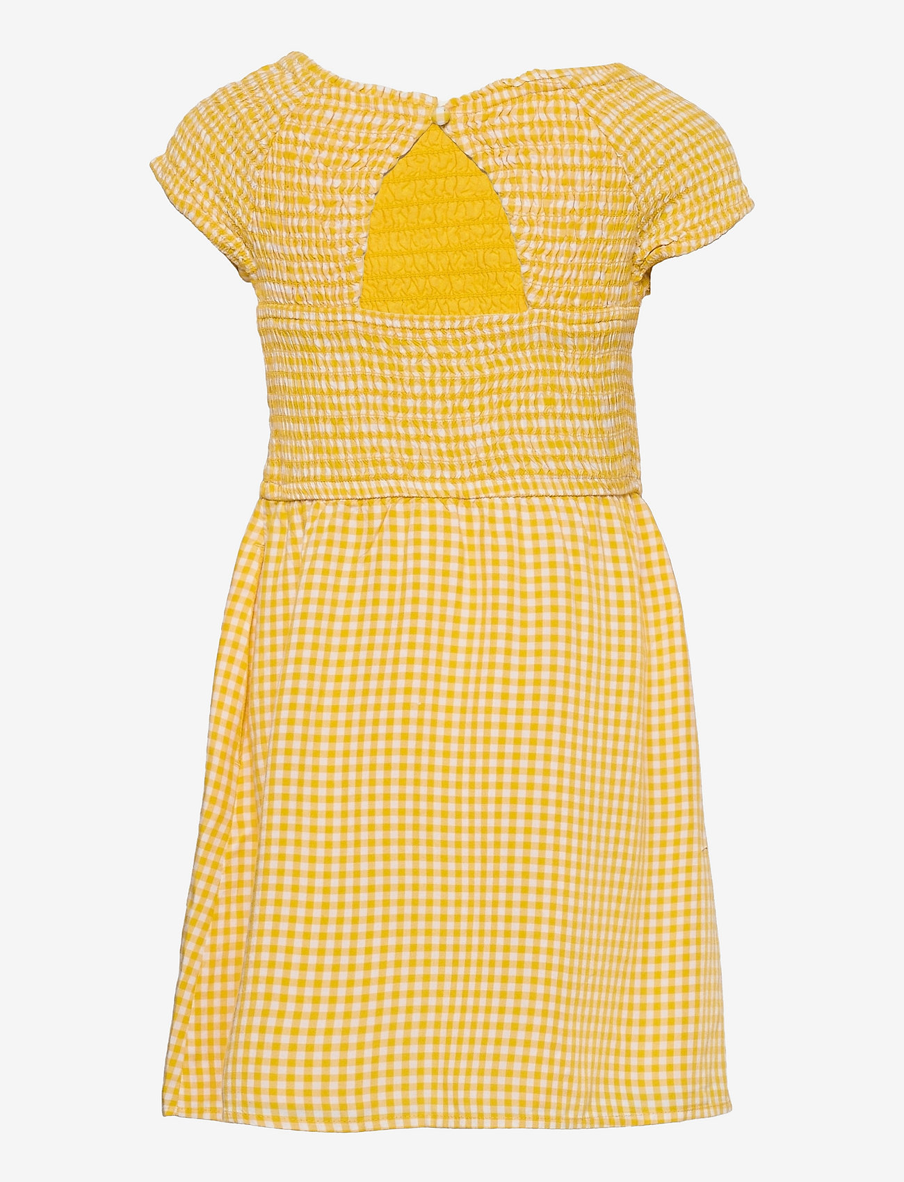 Abercrombie & Fitch - kids GIRLS DRESSES - kleider - light yellow patt - 1