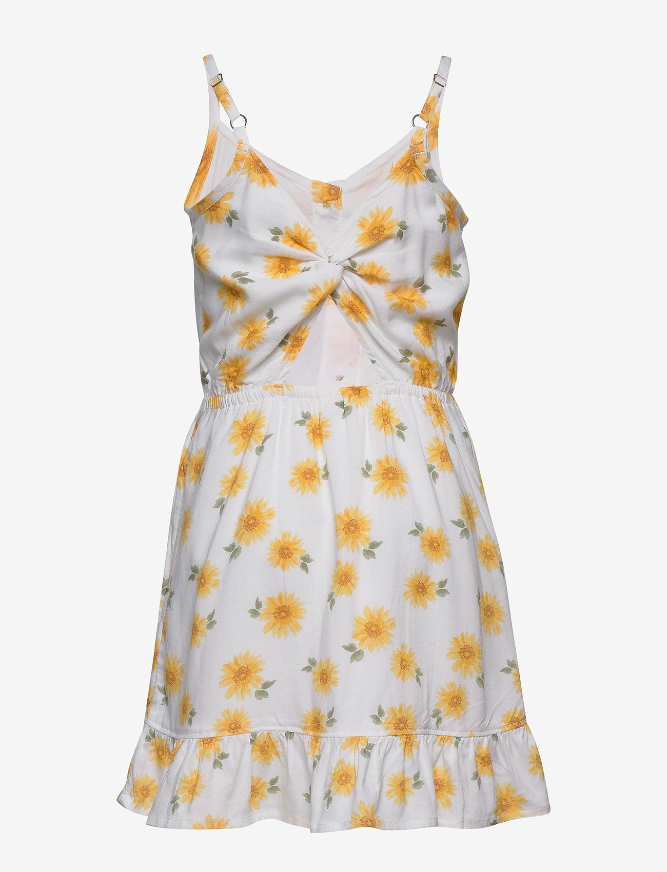Abercrombie & Fitch Easter Dress - Klänningar & Kjolar Light Yellow Patt