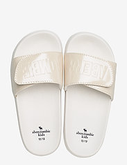 Abercrombie & Fitch - Slide Sandals - pool sliders - cream - 3