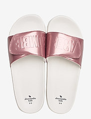 Abercrombie & Fitch - Slide Sandals - pool sliders - dark pink - 3