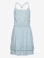 Abercrombie & Fitch - kids GIRLS DRESSES - kleider - cream pattern - 0