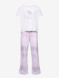 Sleep Pants Set - OPTIC WHITE