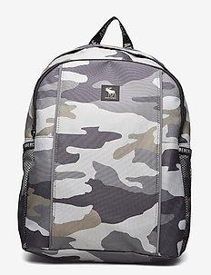 Backpack - ryggsekker - camo