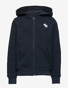 Logo Sweatshirt - kapuzenpullover - navy