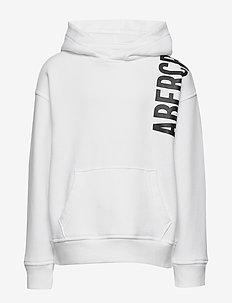 Exploded Logo Sweatshirt - hettegensere - optic white