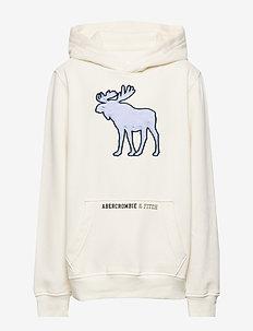 Sweatshirt - hettegensere - cream