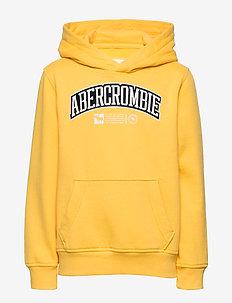Sweatshirt - hettegensere - yellow