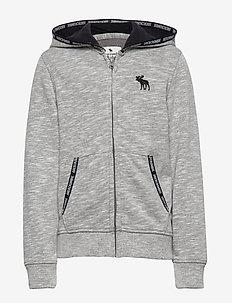 Sweatshirt - DARK HTR GREY