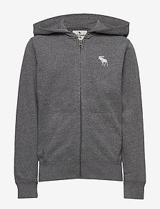 Sweatshirt - hettegensere - dark htr grey