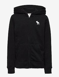Sweatshirt - hettegensere - open black 90
