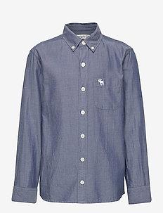 Preppy - shirts - dark blue