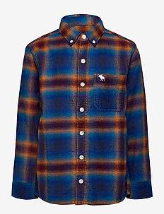 kids BOYS WOVENS - blusen & tuniken - turq/blue pattern