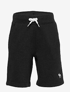 Fleece Icon Short - PURE BLACK