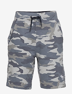 Fleece Icon Short - TURQ/BLUE PATTERN