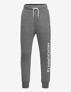 kids BOYS SWEATPANTS - sweatpants - med htr grey