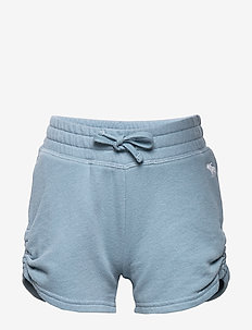 Ruched Shorts - BLUE