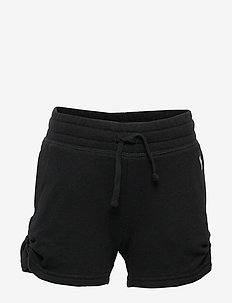 Ruched Shorts - PURE BLACK