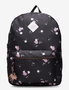 Backpack - rucksäcke - navy pattern