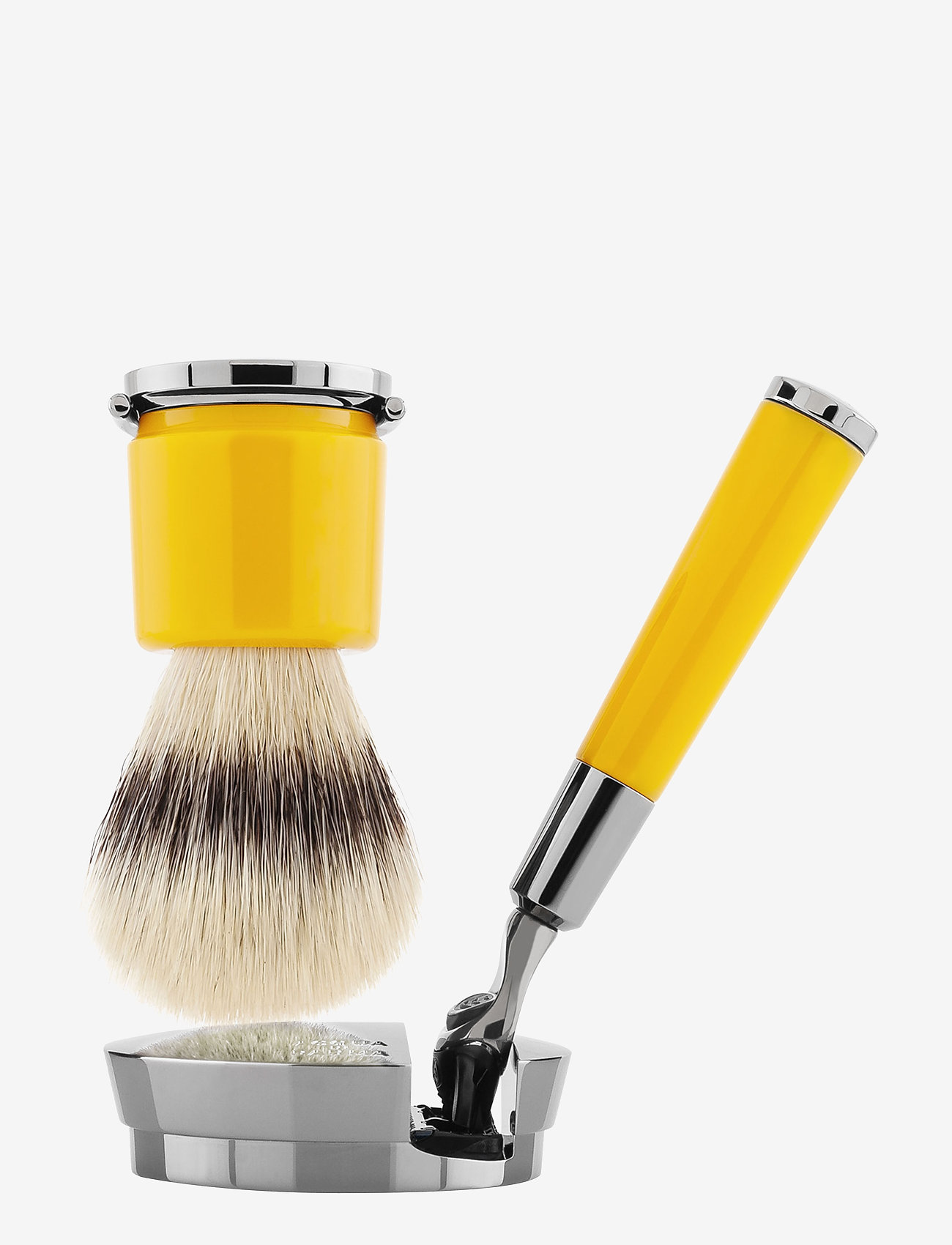 Acqua di Parma - Yellow Razor and Brush - rakborste - clear - 0