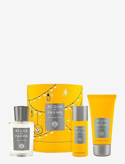 Colonia Pura Gift Set - parfymesett - clear